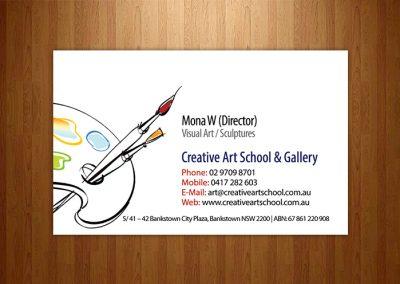 businesscard-portfolio-creative-art-school