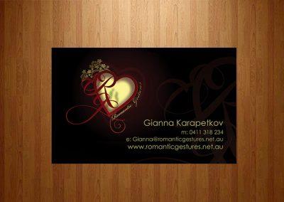 businesscard-portfolio-romantic